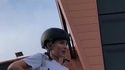On test le skatepark d'octeville-Sur-Mer