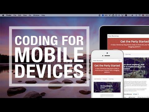 Mobile Web Design - Coding Workflow For Mobile Websites