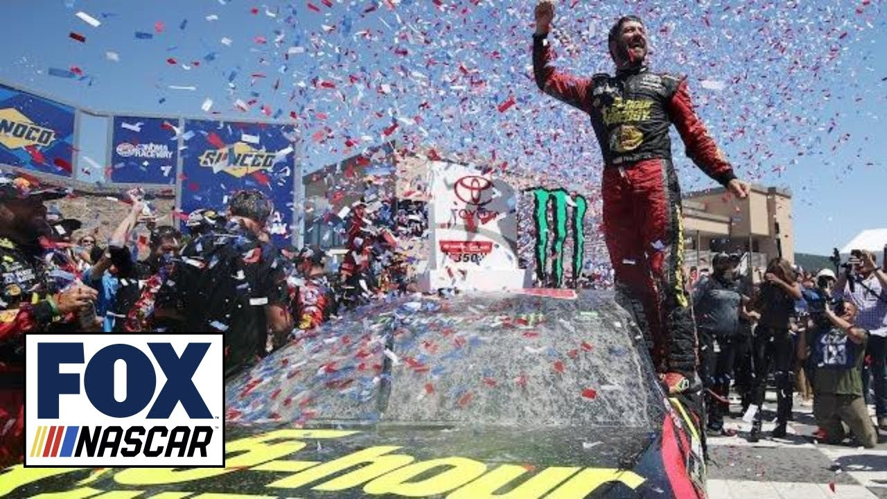 Martin Truex Jr. scores third win of the year after dominating run | 2018 SONOMA