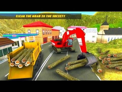 Construction Crane: Hill Climb - Best Android Gameplay HD