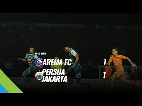 [Pekan 19] Cuplikan Pertandingan Arema FC vs Persija Jakarta, 5 Agustus 2018