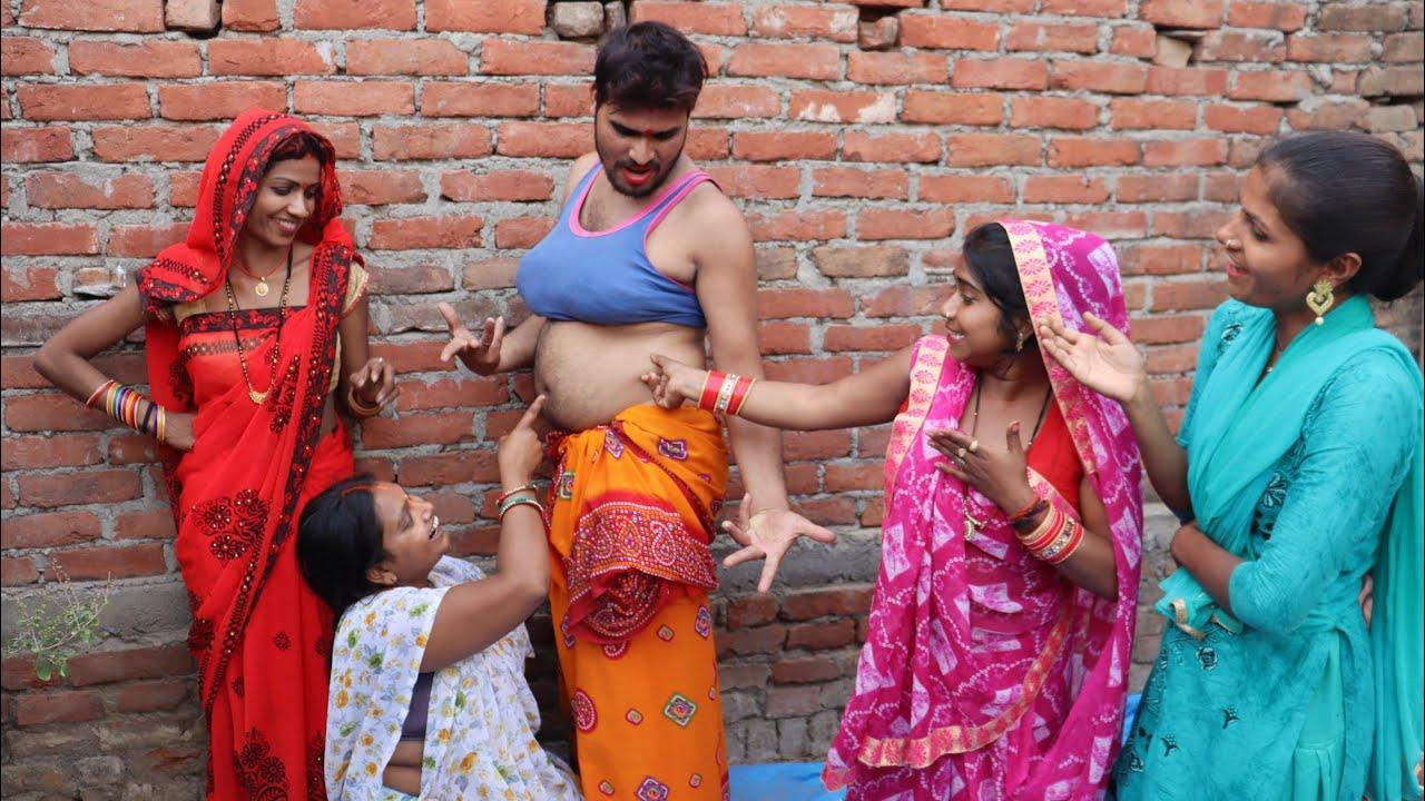 भातार मिलल नाच के लवंडा रे माई || भरपूर मजेदार वीडियो || Bhojpuri Comedy Video || Vijeta Masti