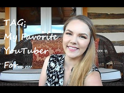 TAG: My Favorite YouTuber For... thumbnail