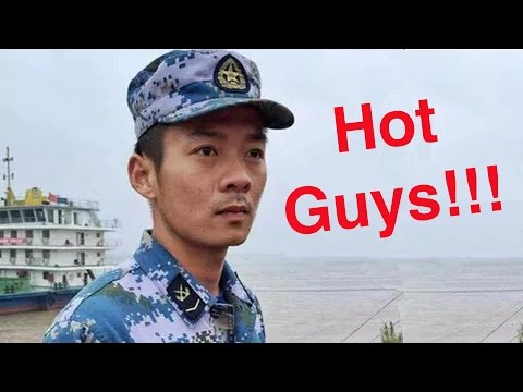 "The ""Hot Guys"" of China's Yangtze Ferry Rescue 