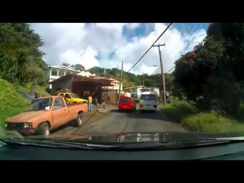 Causal Driving Grenada: Grand Etang, Pearl's Airport, Grenville & East Coast