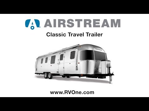 New Airstream Classic Travel Trailer