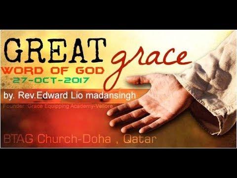 Word of God By.Edward Lio Madansingh | BTAG Church-Doha,Qatar 27-10-17