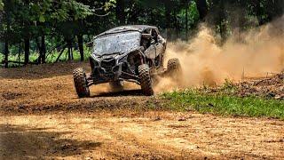 CanAm Maverick X3 MAX, XRS Turbo Rip on our UTV SXS Track!