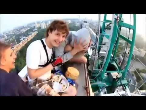 Yükseklik Korkusu Olanlar İzlemesin! Adrenalin dolu
