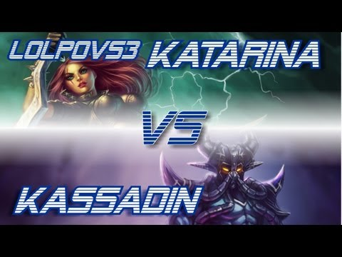 ► LoLPoV - Katarina vs Kassadin [Mid] (League of Legends Live Commentary)