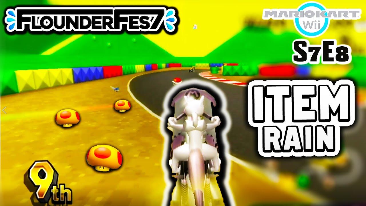 Mario Kart Wii Item Rain - POKEMON Edition