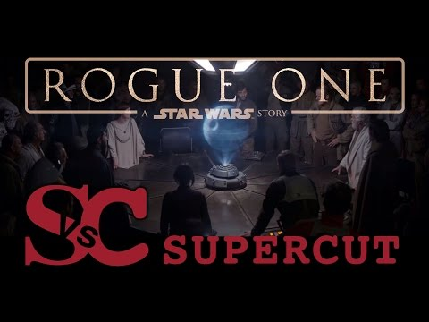 Watch a supercut of all the Rogue One: A Star Wars Story trailers