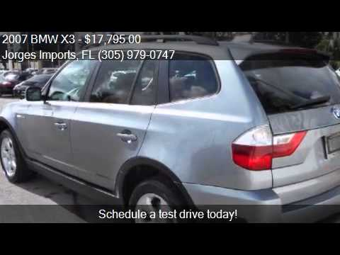 Bmw X3 0si Awd 4dr Suv For Sale In Mi Fl At