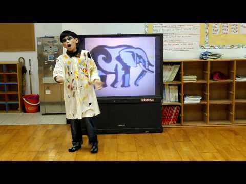 Eric - storytelling : The Blind Man and the Elephant !