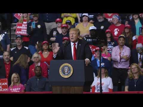 President Trump speech at Grand Rapids, Michigan rally