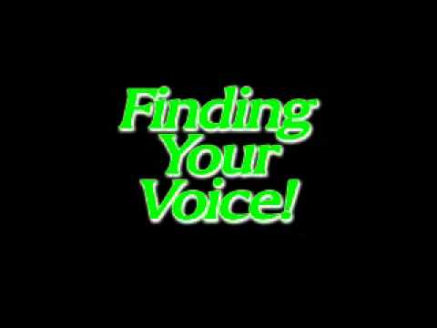 Kim McGuire   Finding Your Voice!