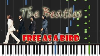 The Beatles - Free As A Bird Piano Cover