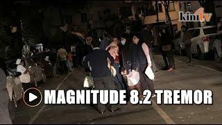 Mexico struck by earthquake of magnitude 8, tsunami possible