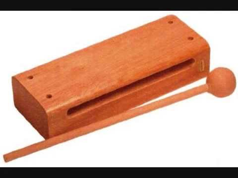 Wood block percussion instrument sounds