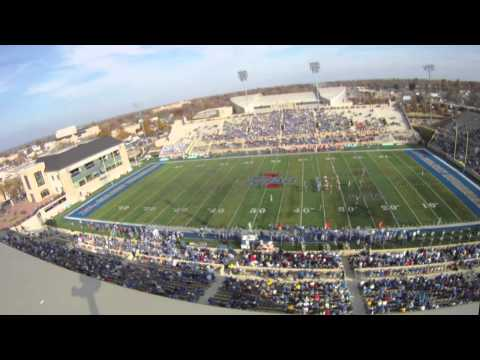 Univsersity of Tulsa's H.A. Chapman Stadium timelapse from the UTEP game on Nov 20, 2010