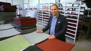 Резиновая плитка Sagama Tille&Roll
