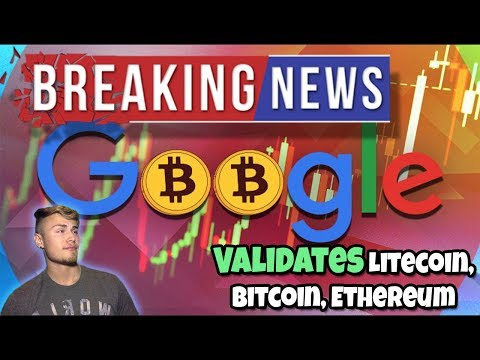 GREAT NEWS: GOOGLE VALIDATES LITECOIN, BITCOIN, ETHEREUM!!! Currency Converter... Stellar Falling