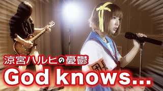 God knows... / 涼宮ハルヒの憂鬱 (平野綾) ライブアライブ フルバージョン cover  by MINT SPEC