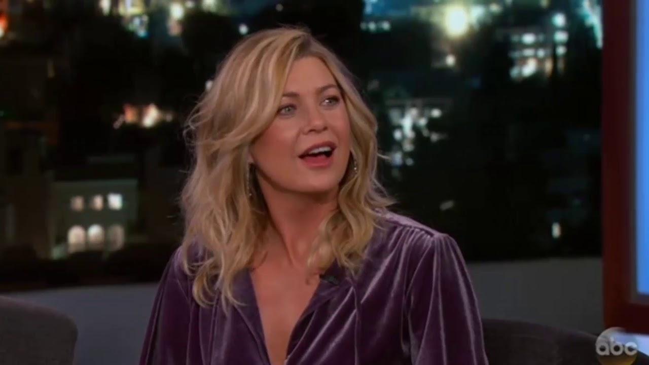 Ellen Pompeo On Jimmy Kimmel 2018