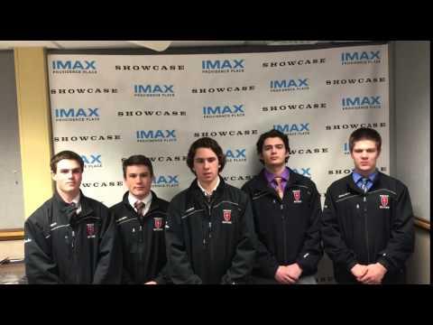 The Prout School Boys Hockey Team