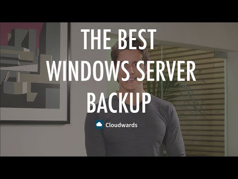The Best Windows Server Backup for 2017