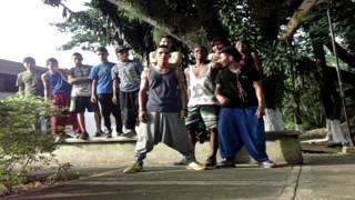 FAMILY DOLOR Y ADRENALINA CREW PARKOUR santander de quilichao cauca 2014