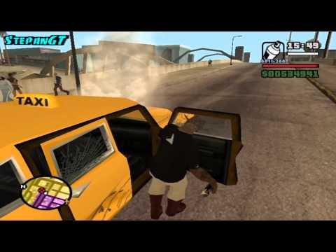 Прохождение Grand Theft Auto: San Andreas На 100% - Закрашиваем Граффити - Часть 1