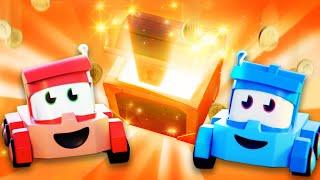 面向儿童的卡车视频 - 寻宝游戏 - Truck Games