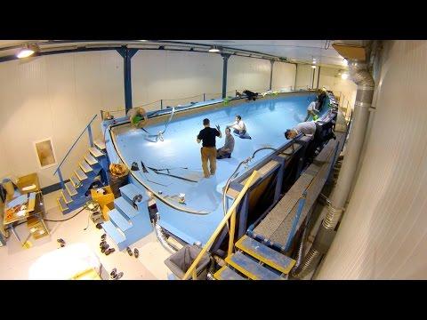 Come nasce una barca: la costruzione della nuova Azzurra in time lapse