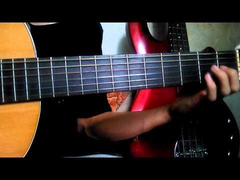 Belajar Gitar - Larut Dewa 19 - Intro & Verse