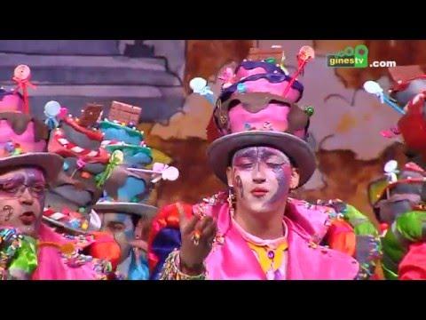 Tan dulce como yo. Carnaval de Gines 2016 (Gran Final)