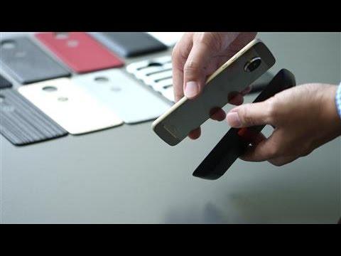 Moto Z: Hands-On With Motorola's Modular Smartphone