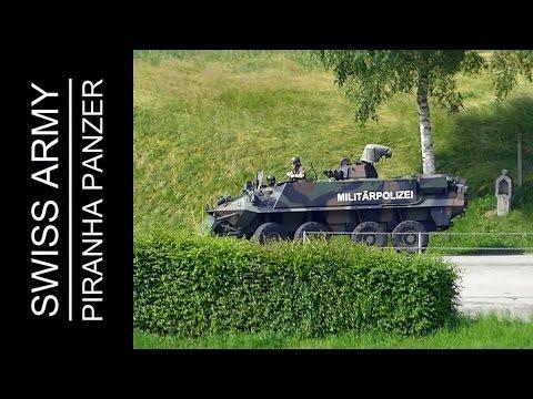 Mowag Piranha 8x8 Panzer der Schweizer Armee ( Militärpolizei ) | Swiss Army Military Police Tank