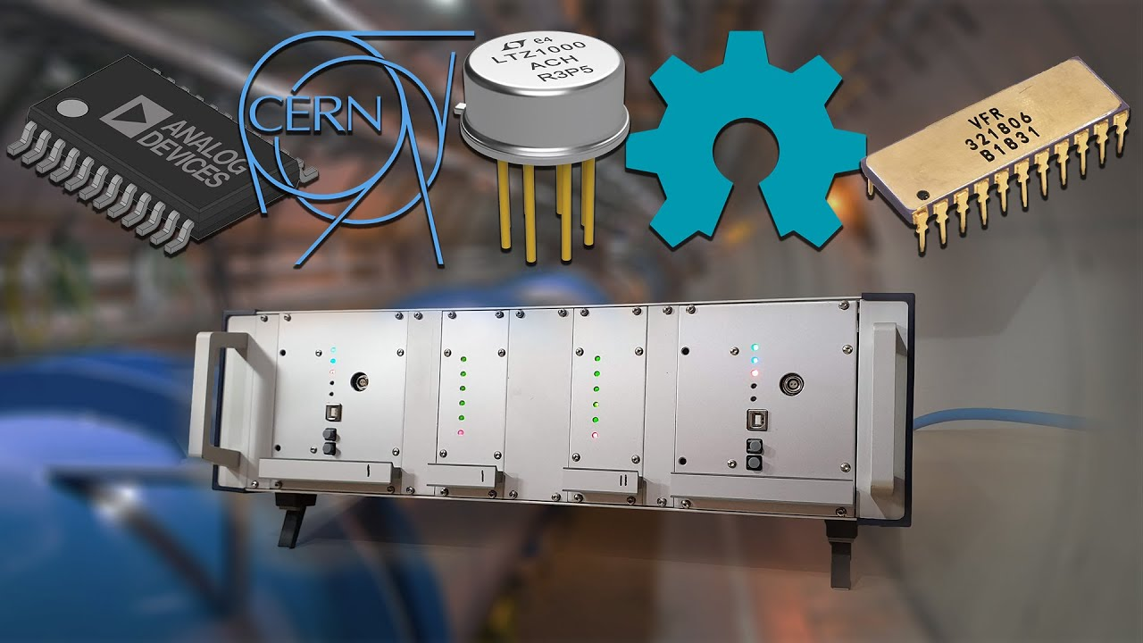 Download Open Source 8.5 Digit Voltmeter from CERN: Build and Test