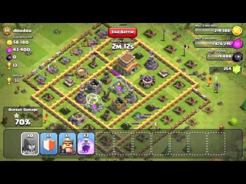 Clash of Clans - All Out Level 5 Archer Raid - TH8