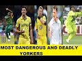 MOST DANGEROUS AND DEADLY YORKERS | WASIM AKRAM | MITCHEL STARC | RABADA