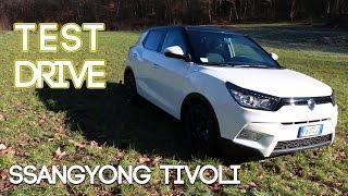 Test Drive Ssangyong Tivoli 2016 - Prova su Strada
