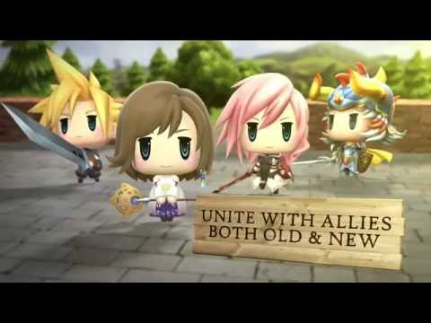 World of Final Fantasy - Welcome to Grymoire!
