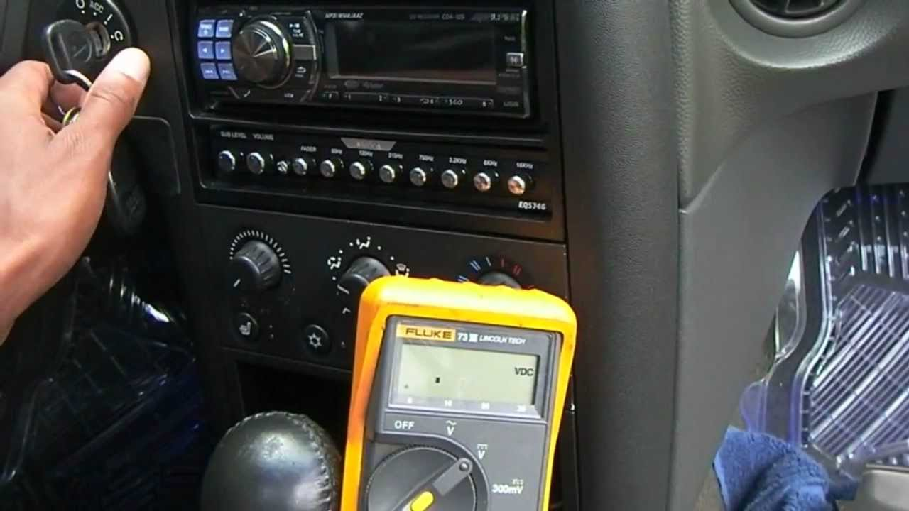2004 pontiac grand prix radio install info. - YouTube