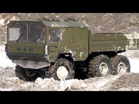 Радиоуправляемые модели внедорожников - грязь и глубокие лужи #1