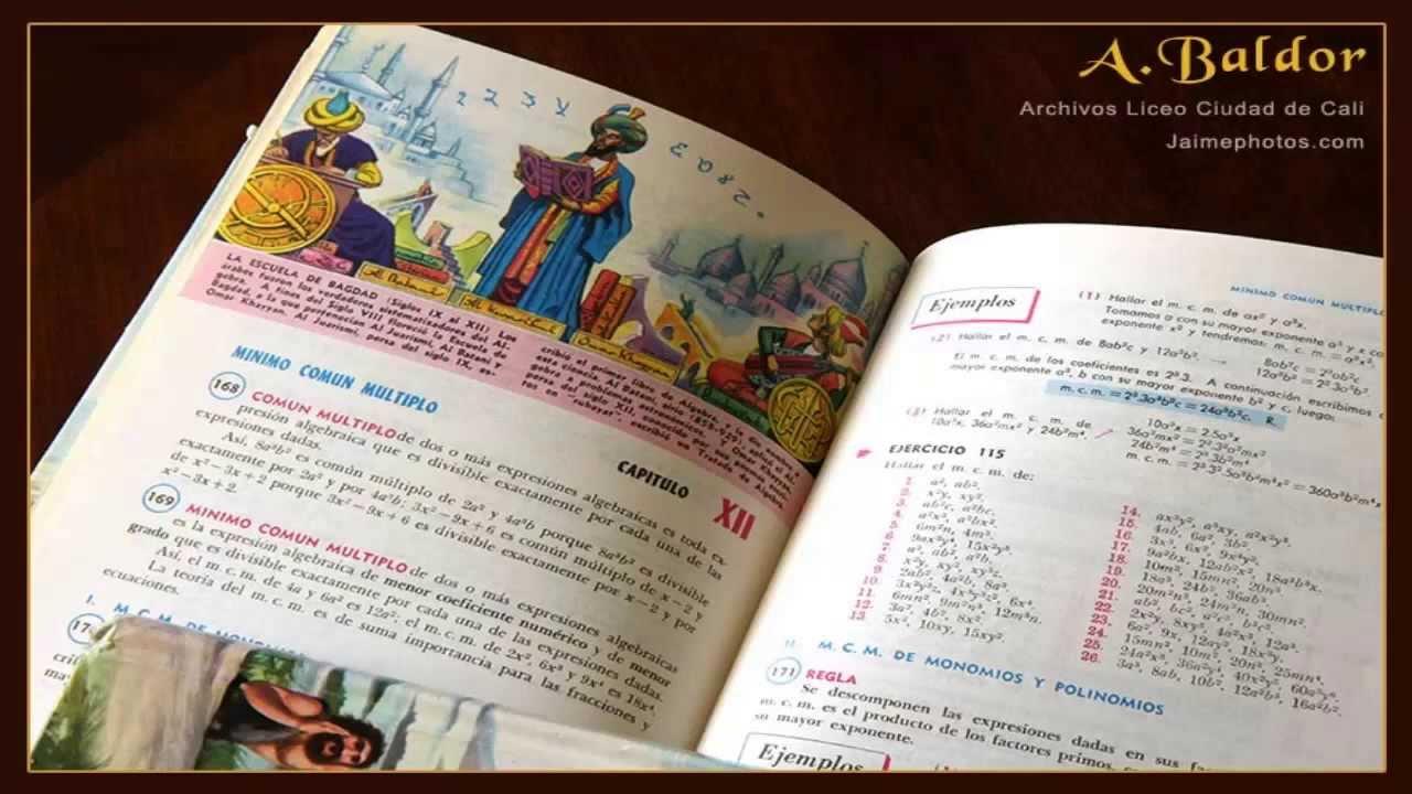 Descarga Libro De Baldor + Soluciones