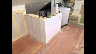 Upstairs Remodel Knee Wall Paneling