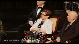 XVIII FH Mazurkas-Premier Ewa Kopacz-Lechowi Wałęsie-zapowiada M.Wachowski-Hotel Mazurkas