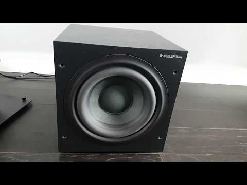 B&W ASW608 Subwoofer Demo
