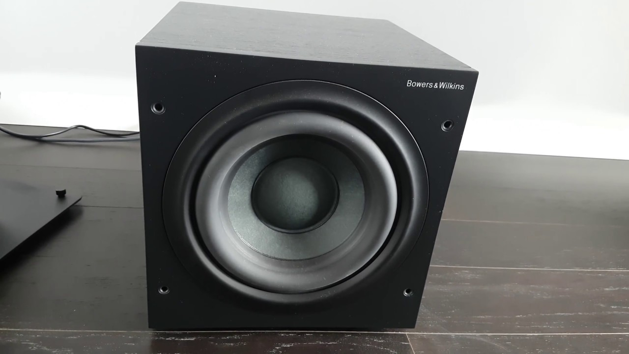 bowers and wilkins asw608. b\u0026w asw608 subwoofer demo bowers and wilkins asw608 0